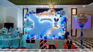 2Event trang trí sinh nhật bé Trường Hải