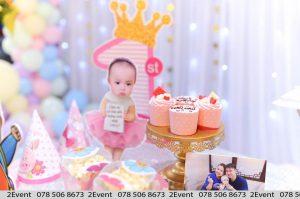 Bánh cupcake trang trí sinh nhật