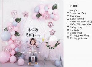 Mẫu trang trí sinh nhật tại nhà đơn giản đẹp cho bé 04