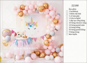 Mẫu trang trí sinh nhật tại nhà đơn giản đẹp cho bé 09