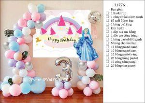 Mẫu trang trí sinh nhật tại nhà đơn giản đẹp cho bé 10