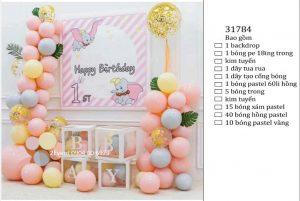 Mẫu trang trí sinh nhật tại nhà đơn giản đẹp cho bé 11