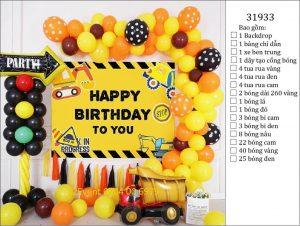 Trang trí sinh nhật tại nhà đơn giản 01