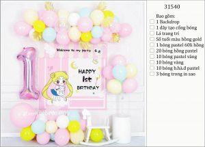Mẫu trang trí sinh nhật tại nhà cho bé