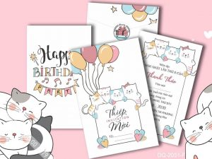 Thiệp sinh nhật đẹp cho bé 9