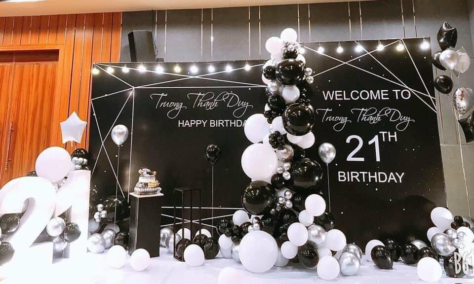 Trang trí sinh nhật cho bé trai mẫu 16
